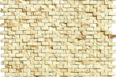 Pompeya Travertino Brick-KER-1844 副本