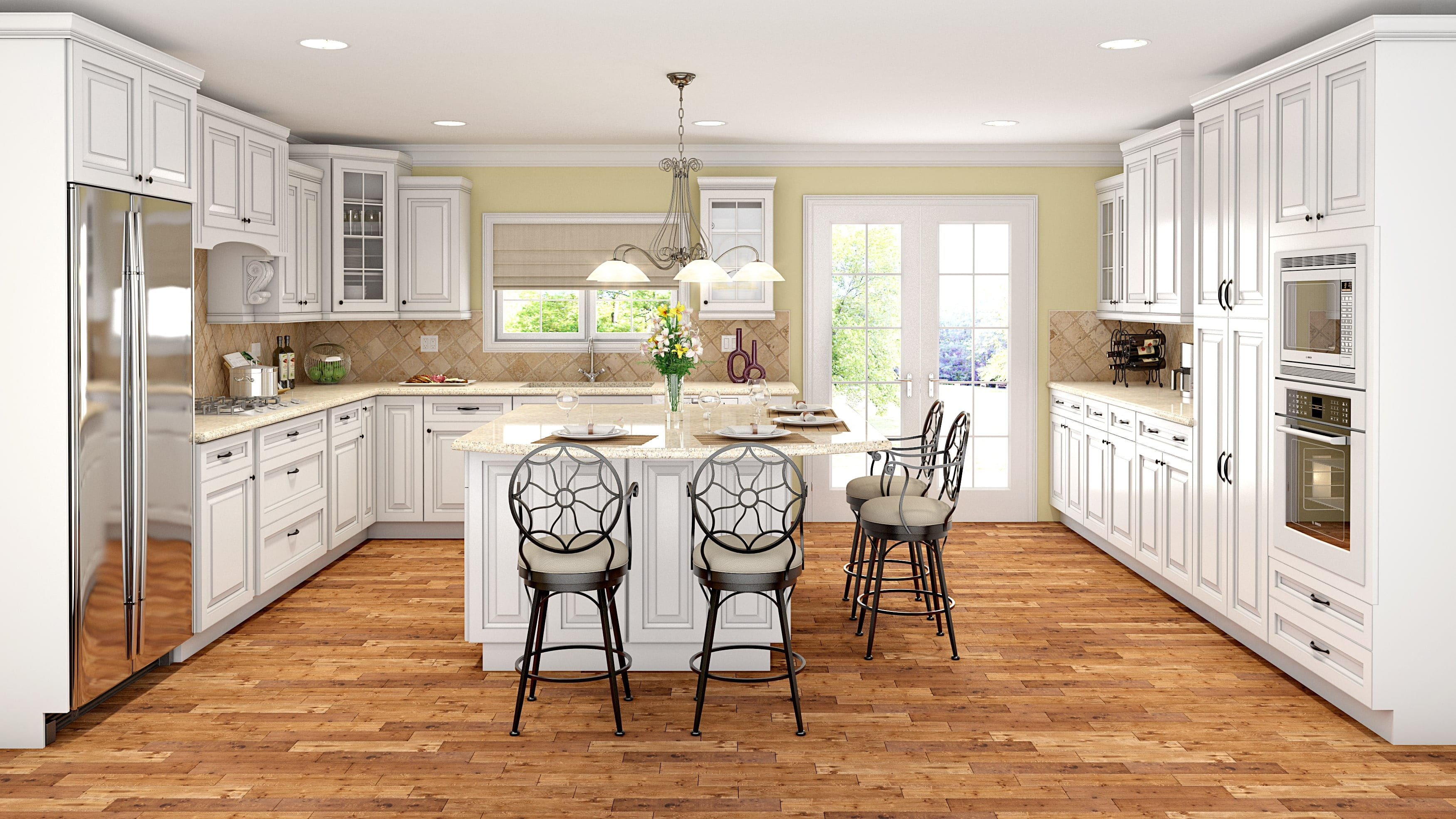 Kitchen cabinets classic style cabinets for kitchens for Aspen kitchen cabinets