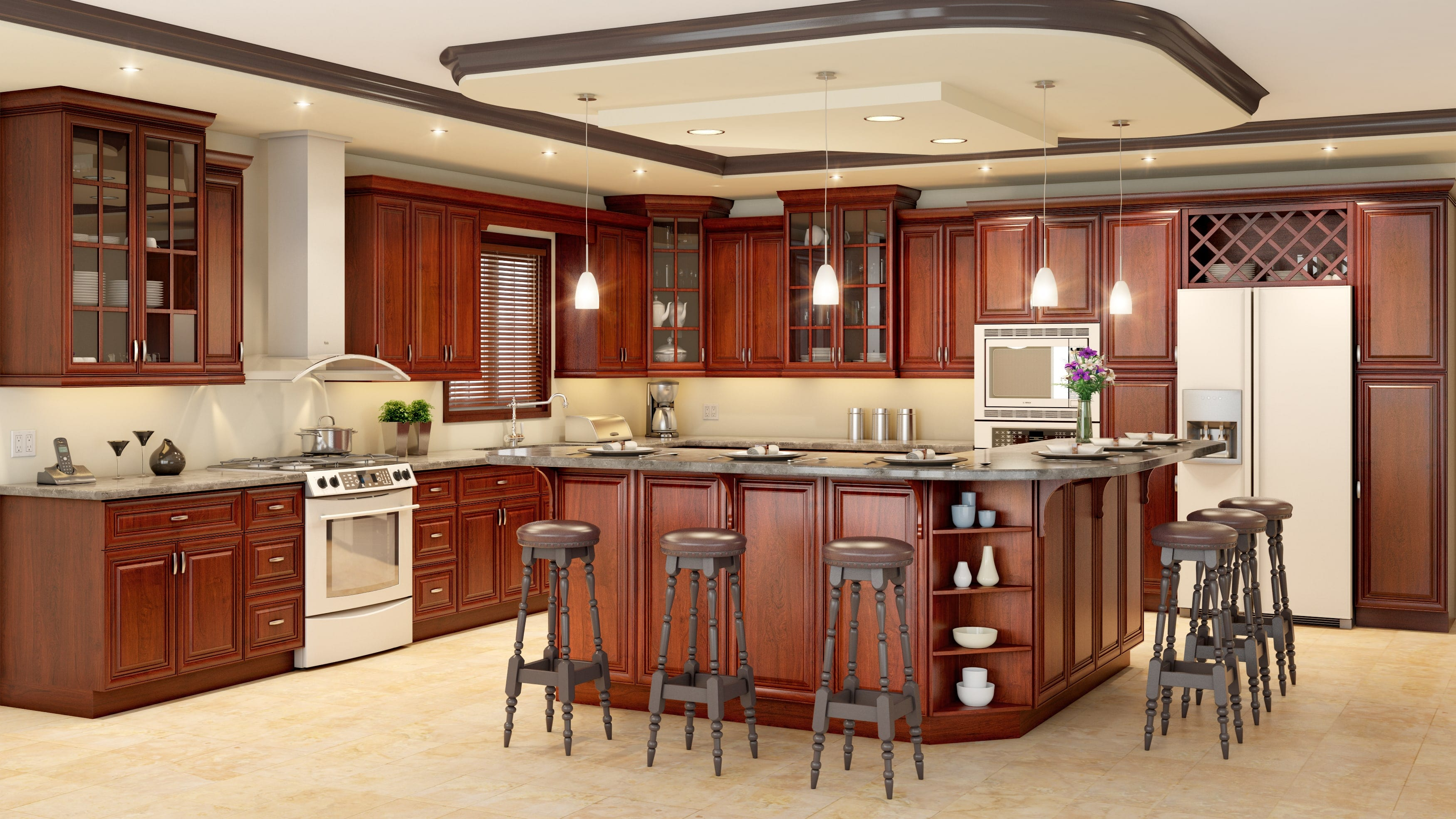 Kitchen cabinets classic style cabinets for kitchens for Classic kitchen cabinets