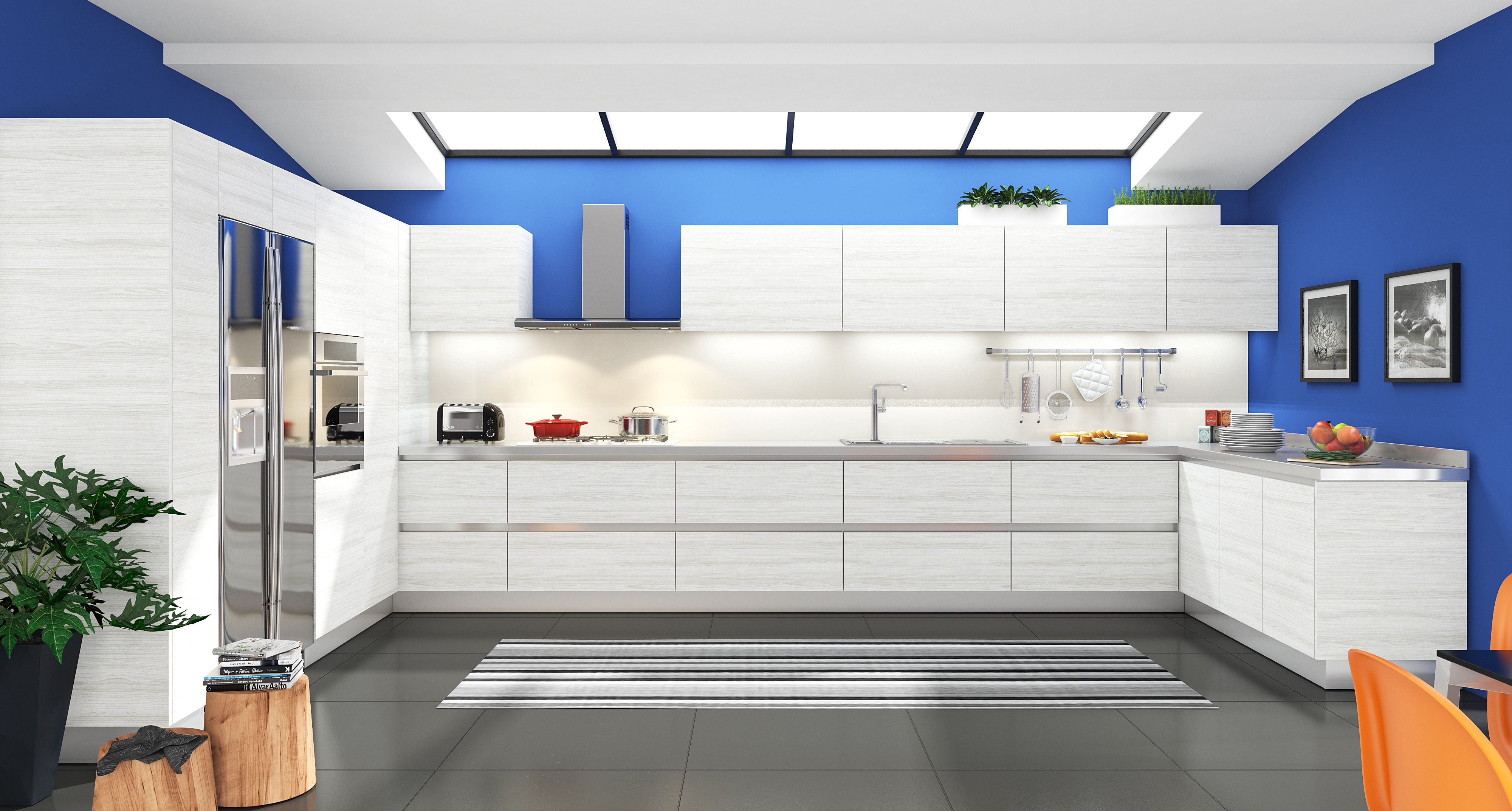 Creating the ideal kitchen and bathroom on a budget.