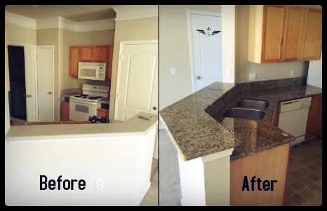Orlando Kitchen Granite Countertop