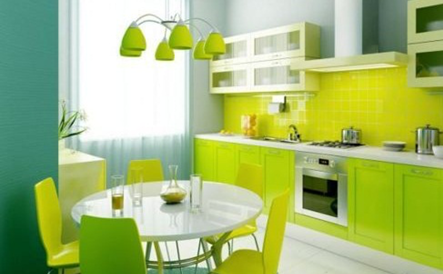 poly laminates, bight kitchen