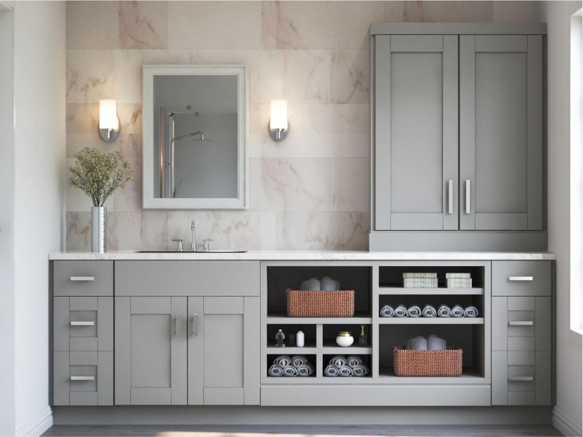 Buy Shaker Dove Cabinets from supreme international USA Tampa Orlando at best price guarantee