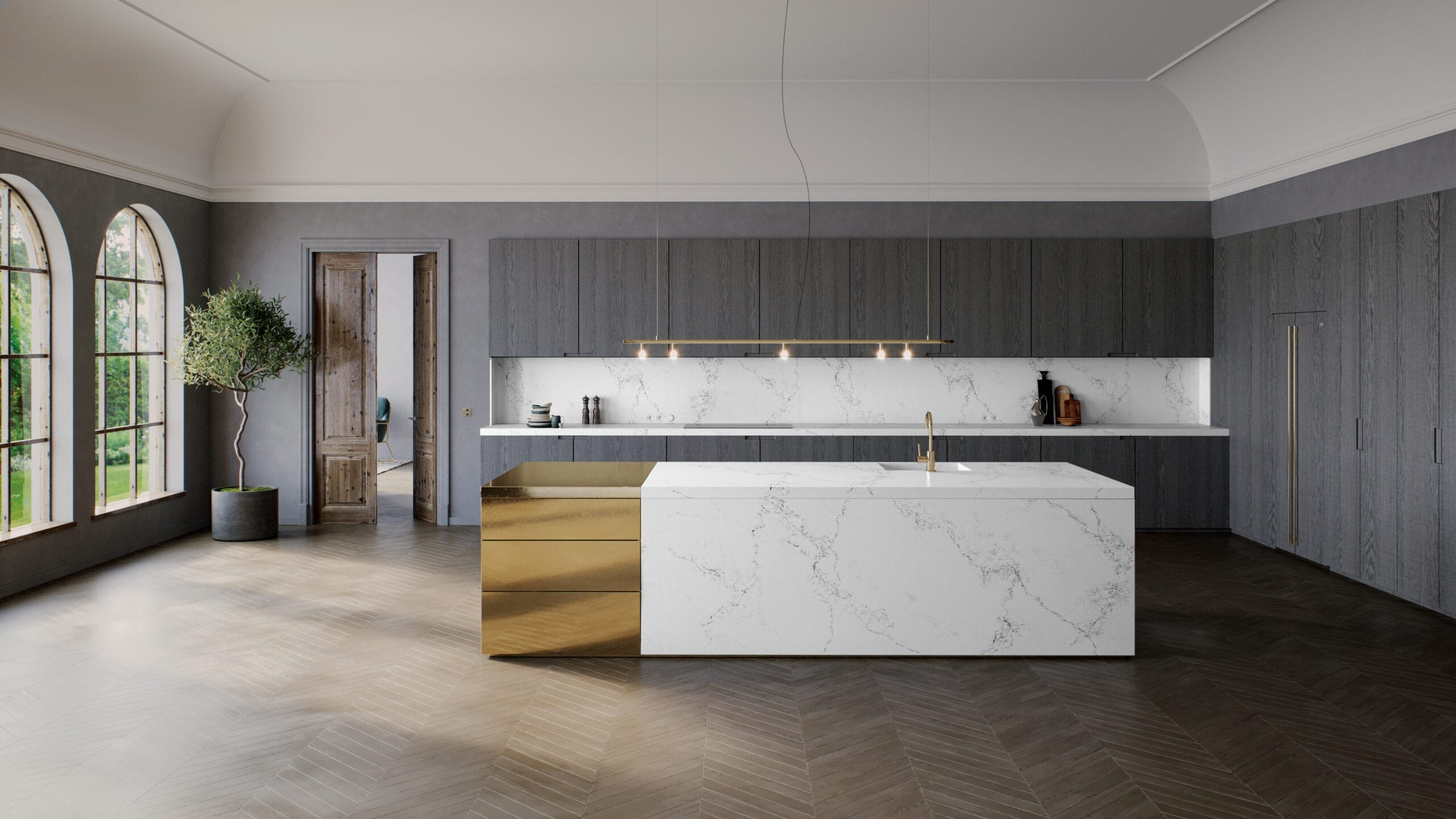 Affordable Quartz Counter tops in Tampa kitchen cabinets brandon